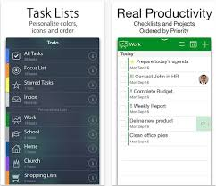 todo checklist the best to do list apps for iphone