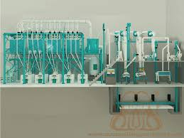 Flour Milling Plant Design Most Durable Maize Corn Mill Plant With Affordable Price And