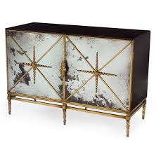hollywood regency mirrored furniture. Hollywood Regency Mirrored Furniture Adalyn Antique Mirror Gold Black 2 Door L
