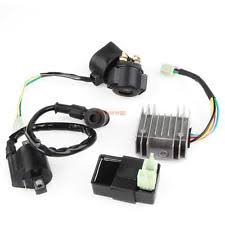 chinese 200cc parts accessories ignition coil relay rectifier cdi kit for chinese atv quad 150cc 200cc 250cc