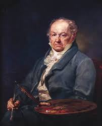portrait of goya with his palette 1827 by vicente lopez y portana 1772