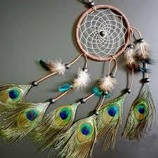 Dream Catcher with feathers wall or car hanging decoration ornament Room  Decor adesivos para parede Dreamcatcher NVIE-in Wind Chimes & Hanging  Decorations ...