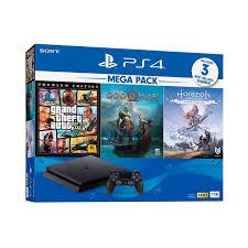 Máy chơi game PS4 Slim 1TB Mega Pack 2 CUH-2218B - Hàng chính hãng -  PlayStation Thương hiệu Sony