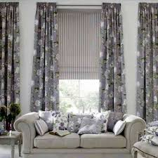 Best Amazing Living Room Curtain Ideas For Large Windows Flower Patterned  Large Picture Window Treatment Ideas Living Room Curtains Design Ideas Interior,  ...
