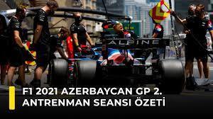 F1 2021 Azerbaycan GP 2. Antrenman Seansı Özeti - YouTube