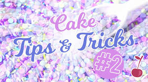 Cake Decorating Tips Tricks For Beginners Volume 2 Cherry Basics