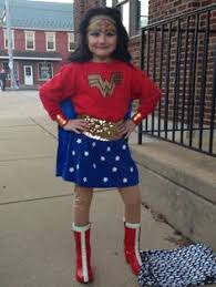 Wonder Woman Costume Pattern Cool Cool Homemade Wonder Woman Costume For Girls SPECIAL CLOTHING