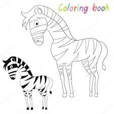 Coloriage Livre Oiseaux Z Bre Enfants Mise En Page Pour Le Jeu