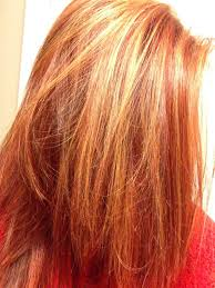 Red Hair With Blonde Highlights Might