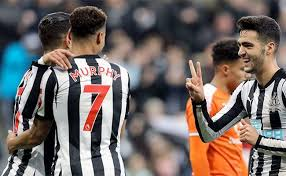 Image result for Newcastle 3 Luton 1