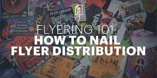 Club Flyers Address Flyering 101 How To Nail Flyer Distribution Lucidpress