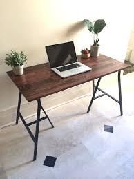 narrow office desks. Bright Idea Long Narrow Desk Home Designing Office Desks S