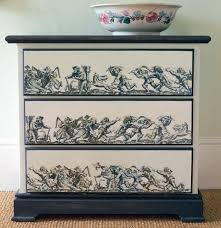 decoupage ideas for furniture. decoupage dresser with diy instructions by annie sloan ideas for furniture