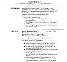 Social Work Resume Examples Resume Summary Professional Resume