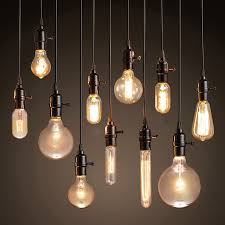 industrial home lighting. Modern Pendant Lights Loft Vintage Lamp Industrial Home Lighting E27 220V For Decor Lampshade Edison Bulb E