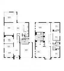 valuable idea 4 bedroom house plans double story 2 modern arelisapril