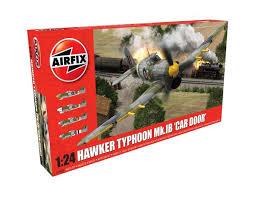 1 24 hawker typhoon 1b car door model kit