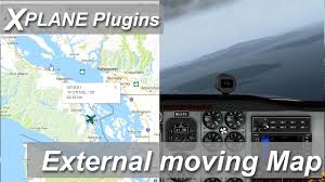 Aviation Charts On Google Maps X Plane Plugins And Addons External Moving Map Google Maps