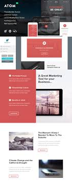 responsive email newsletter templates for your next marketing atom responsive email template