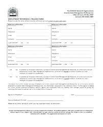 Personal Reference Check Form Template