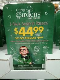 gilroy gardens ticket costco