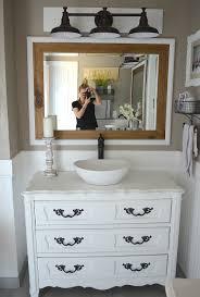 Painted Bathroom Cabinets Honest Review Of My Chalk Painted Bathroom Vanities