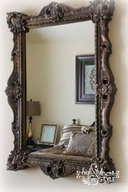 Best 25+ Painted Mirror Frames Ideas On Pinterest | Painting A With Regard  To Frames