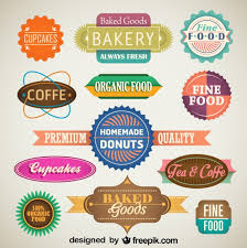Vintage Food Labels Vintage Set Of Food Labels And Badges Vector Free Download