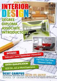 Interior Design Degrees Online Accredited Gorgeous Study Interior Design At OCBT Campus School Of Design Higher