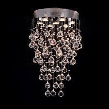 glam lighting. Crystal-chain-drops-of-rain-design-modern-glam- Glam Lighting