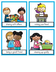 School Rules Pocket Chart Sort Beginning Of The Year