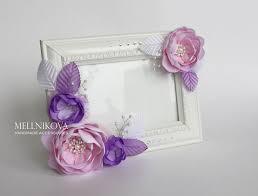 Pin by Юльчик on <b>Фоторамки</b> c <b>цветами</b> из лент и ткани (Flower ...