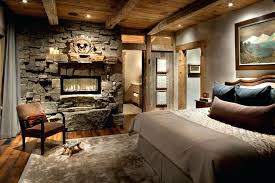 cabin area rugs rustic stone fireplaces bedroom with rug bed pillows style throw