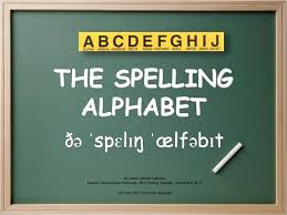 The alphabet first used by the armed forces has spread to all national and international radio broadcasts and has been standardized by nato. The International Spelling Alphabet