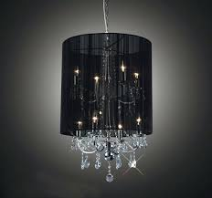 shades for chandelier crystal with shade table lamp black double shaded mini chande
