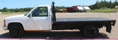 1996 Chevrolet 3500 flatbed pickup truck | Item J4437 | SOLD...