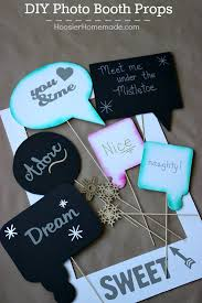 create one of a kind photo booth props for the holidays your