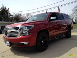 2015 Crystal Red Tintcoat Chevrolet Suburban LTZ 4WD #92138258 ...