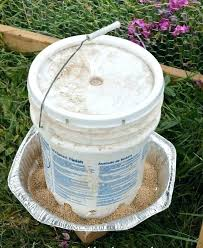 20 gal bucket gallon chicken and feeder from 5 buckets27