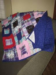 28 best Dk deer images on Pinterest | Quilt patterns, Cottage ... & quilts made from clothing of loved ones | Custom Memorial Lap Quilt Throw--  made Adamdwight.com