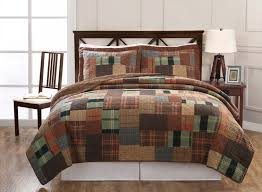 Masculine Bed Comforters With Retro Masculine Bedding Quilts Ideas ... & Masculine Bedding With Best Color And Materials Design : Masculine Bed  Comforters With Retro Masculine Bedding Adamdwight.com