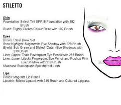 Entire Mac Face Chart Collection Beautynewbie Makeup