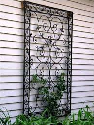outside wall art metal outdoor decor wrought iron best of interesting outdoors ideas