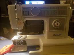 Omega 7500 Sewing Machine Manual
