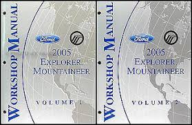 2005 ford explorer mercury mountaineer wiring diagram manual 2005 ford explorer mercury mountaineer repair shop manual original set 139 00