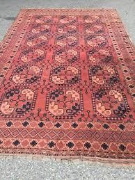 antico swiss beautiful antique ersari rug 7 5 x 11 4 ft