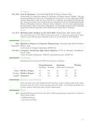 Resume Latex Template Awesome Modern Cv Template Bizmancan Com