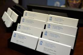 unc ch resources the center for faculty excellence business cards