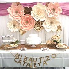 How To Make Paper Flower Backdrop 30cm Paper Flower Backdrop Wall Large Rose Flowers Diy Wedding Party