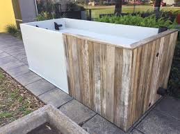 raised garden beds with water tank
